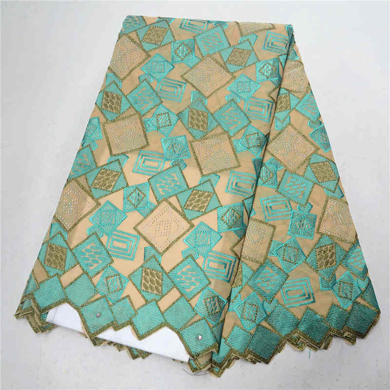Latest african Lace Fabric Swiss Voile Lace In Switzerland Dry Cotton Lace Material High Quality Nigeria