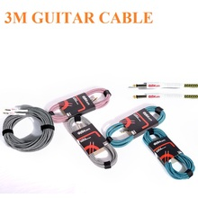 3M guitar audio cable, high shielding design advanced materials durable audio line, bass electric guitar cable