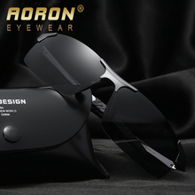 AORON Men's Brand Polarized Sunglasses Women Classic Design Glasses oculos de sol Feminino Cool Accessories Night Vision Goggles