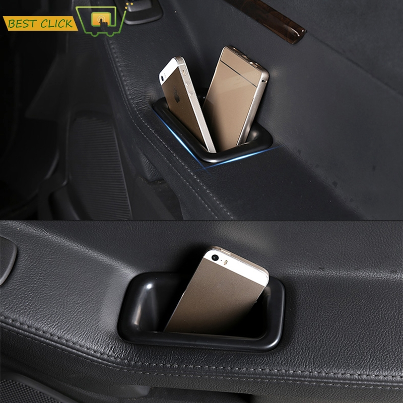 2pcs For Ford Explorer 2011-2015 Interior Car Front Door Storage organizer Box