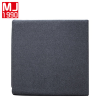 100% Knitted Cotton Back Cushion Pads Kitchen Chairs Lumbar Support Comfort Memory Latex Seat Cushion Home Decor Luxury Cushion