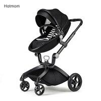 Лидер продаж для мамы тележка может сидеть и лежать Высокая Пейзаж Портативный коляска горячий мамы коляска