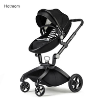 Hot Mom baby trolley Can Sit and Lie High Landscape Portable Stroller hot mum stroller