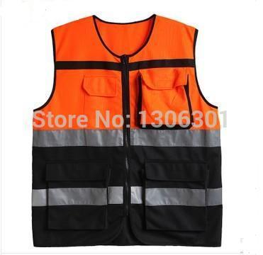 Reflective Safety Vest/Reflective jackets/Motorcycle riding clothes warning reflective vests