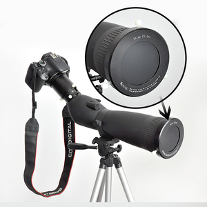 "Image 5 - Glass Telescope Solar Filter with Adjustable Cap Metal 86 104mm(2.58"" 3.12"") Inside Diameter Solar Filter for Photograph"