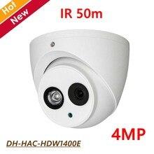 DH 4MP HDCVI купольная Камера HAC-HDW1400E ИК 50 м IP67 открытый Водонепроницаемый CCTV Камера DC12V Смарт ИК Бесплатная доставка
