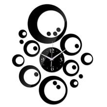 needle clocks 3d wall