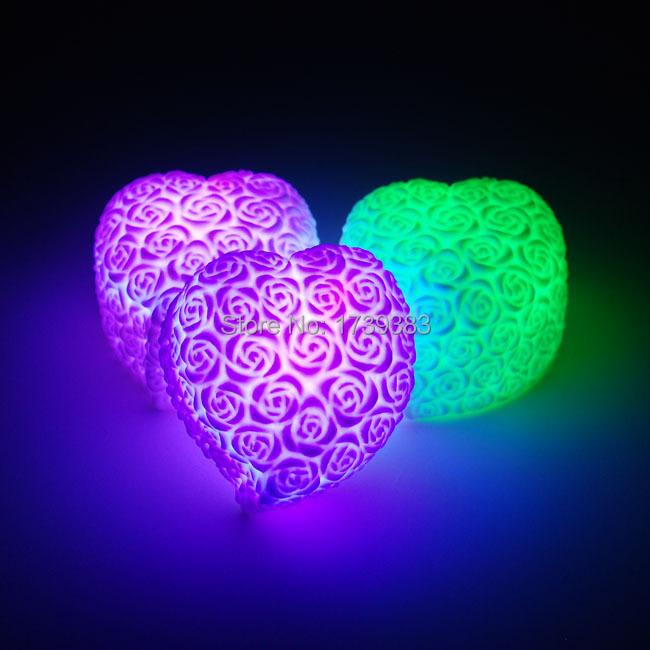 2015-RGB-Colorful-Rose-en-forme-de-coeur-Mini-lumières-de-la-nuit-de-noël-Valentine