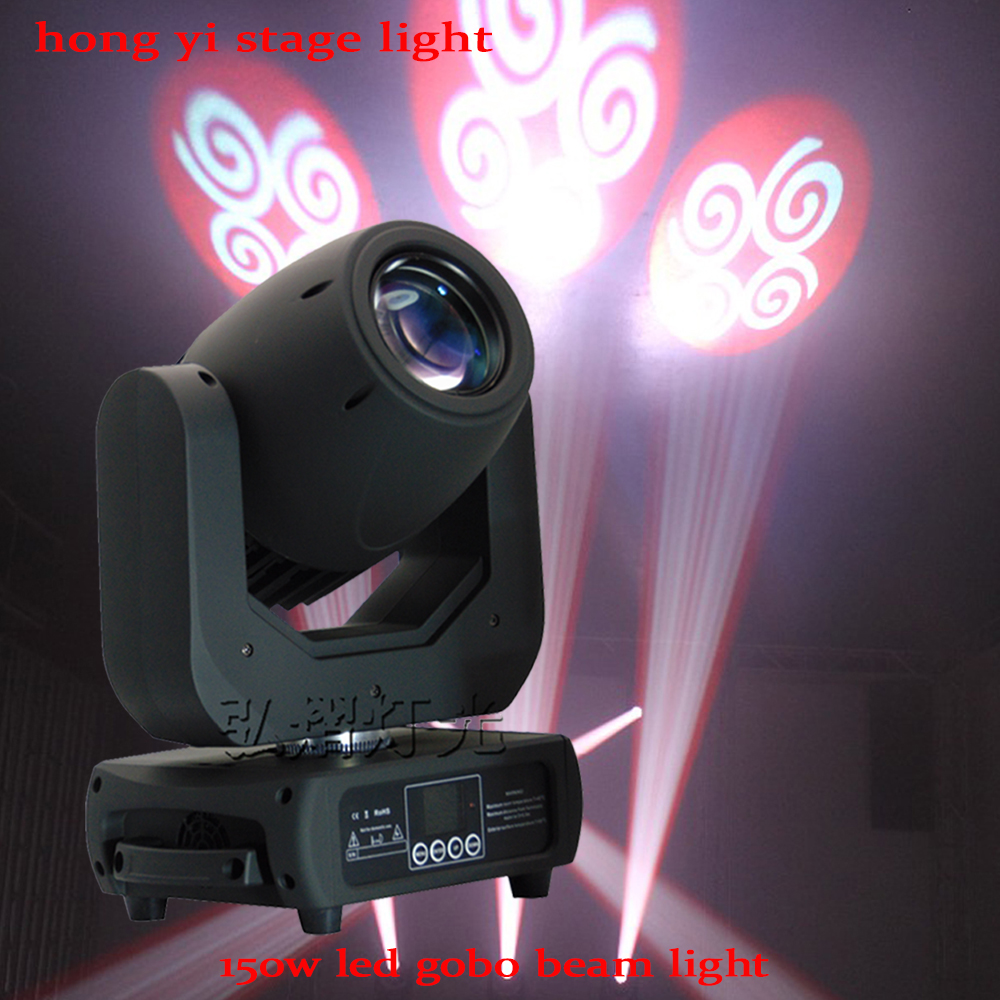 Hot sell High brightness Gobo 150w moving heads China 150W LED Spot Moving Head Light For DJ Stage Party Concert Event Show hot 19 26 36 50 degree lens for led ellipsoidal gobo projector light 150w led color profile spot light leko lens