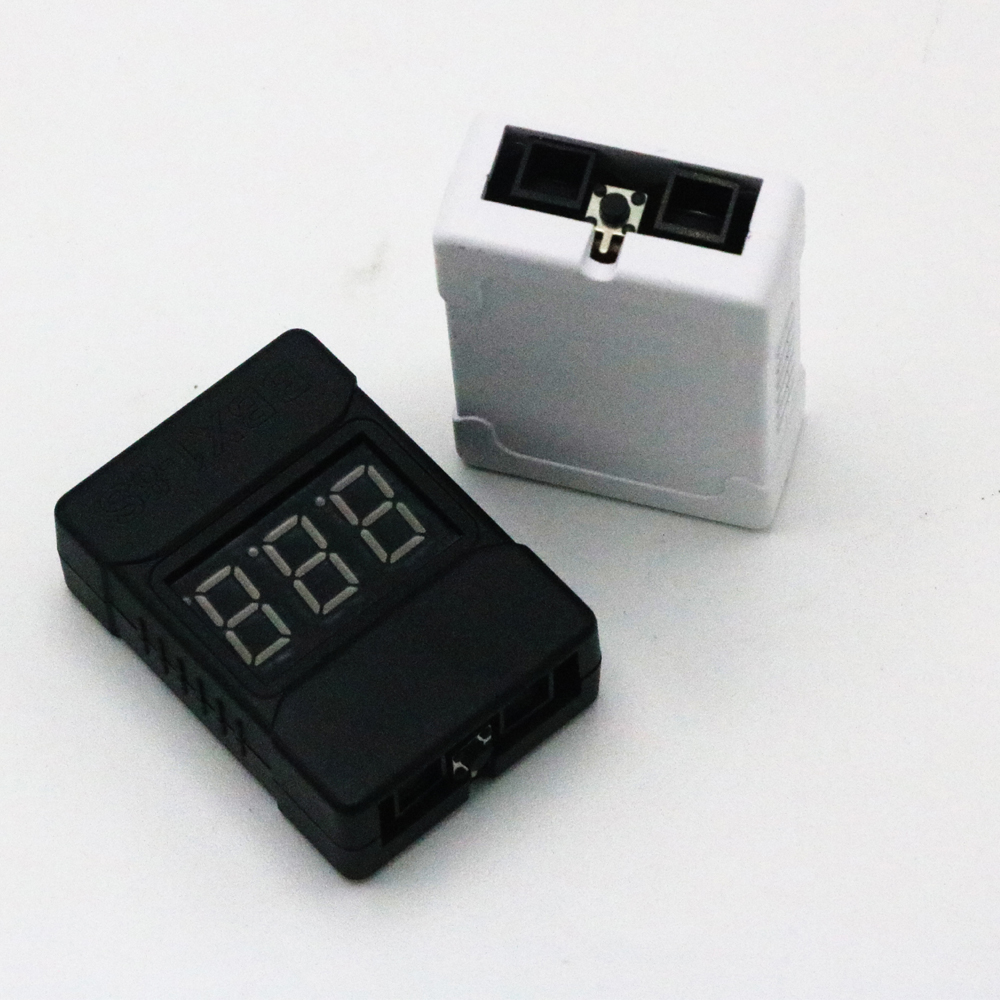 1pcs BBX1-8S 1-8S Lipo Battery Voltage Tester/ Low Voltage Buzzer Alarm/ Battery Voltage Checker With Dual Speakers