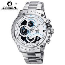 FashionBrand hombres reloj de cuarzo reloj deportivo de Lujo luminoso cronómetro cronómetro a prueba de agua 100 m Muñeca watchesCASIMA #8203