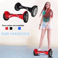 X1SUV Hoverbaord 10 Inch Scooter With Two Wheels LED Light Children Skateboard With Pneumatic Tire Great