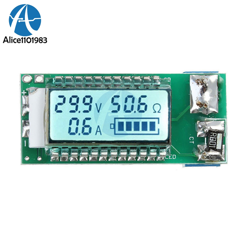 LCD Lithium Battery Tester 18650 Li-ion Lithium Battery Tester Meter Capacity Current Voltage Detector Diy Electronic PCB Board