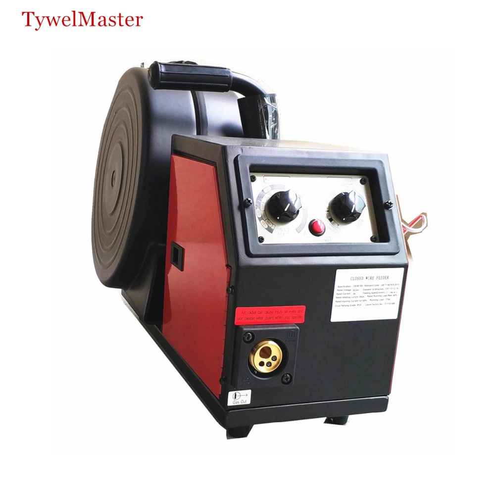 Professional 350A Wire Feeder System DC24v 4 Rolls 0.8-1.6mm Feed Rolls 300mm Spool Remote Control Of MIG MAG Welding Machine