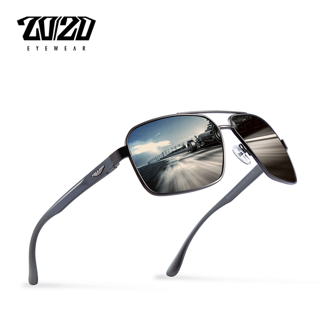2e4d910e438 20 20 Brand Design New Aluminum Polarized Sunglasses Men Travel Driving Sun  Glasses Classic Male Eyewear Gafas PZ7014