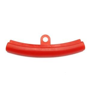 Image 4 - 5 ピース車のタイヤ赤ゴムガードリムプロテクタータイヤホイール変更リムエッジ保護ツールポリエチレン