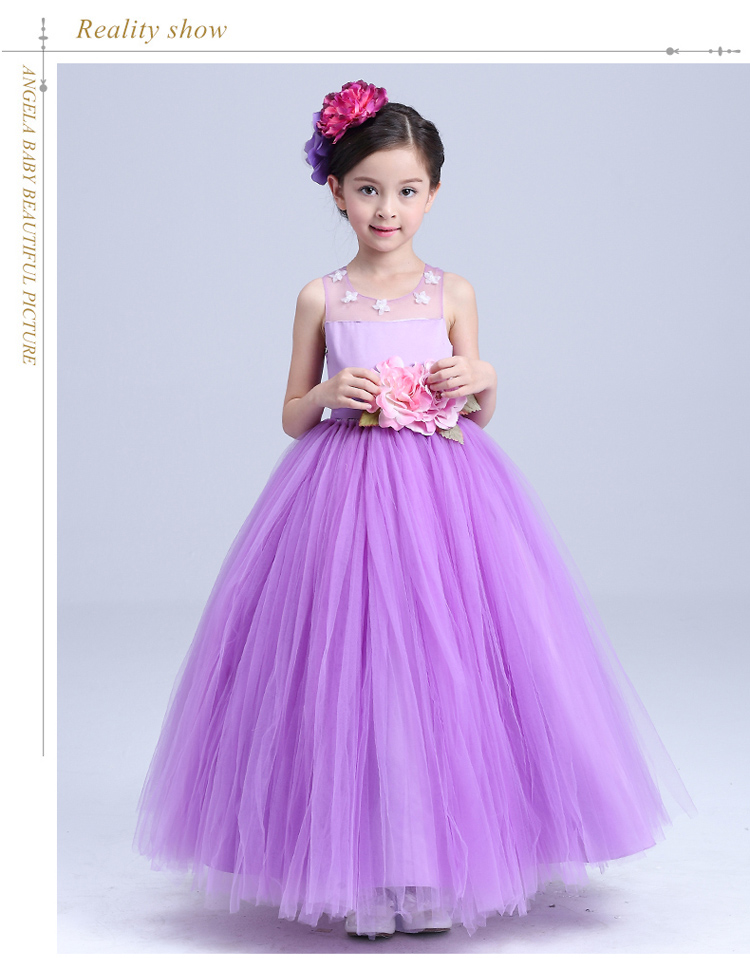ad70fb8eb2 High class evening party wearing western dress baby girl party dress ...