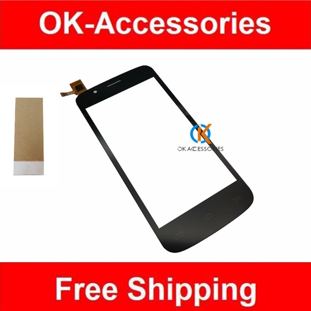 High Quality For Prestigio PAP 5453 Touch Screen Digitizer Black Color With Adhesive Tape 1PC/Lot