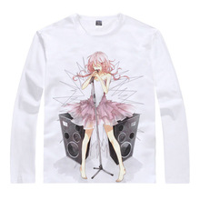 Guilty Crown T shirts kawaii Japanese Anime t shirt Manga Shirt Cute Cartoon Shu Ouma Inori