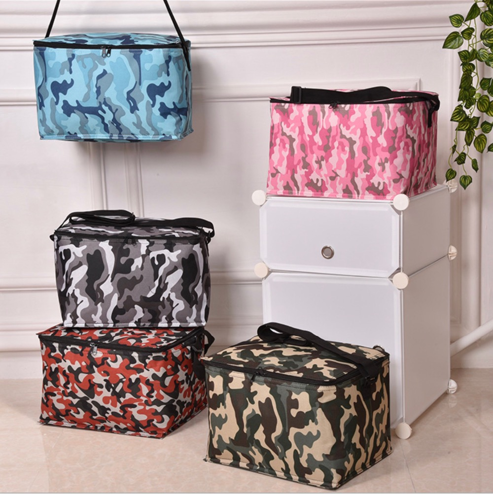 Portable Cooler Bags with 20 bottles capacity Picnic Storage Camouflage Lunch bags available for custom