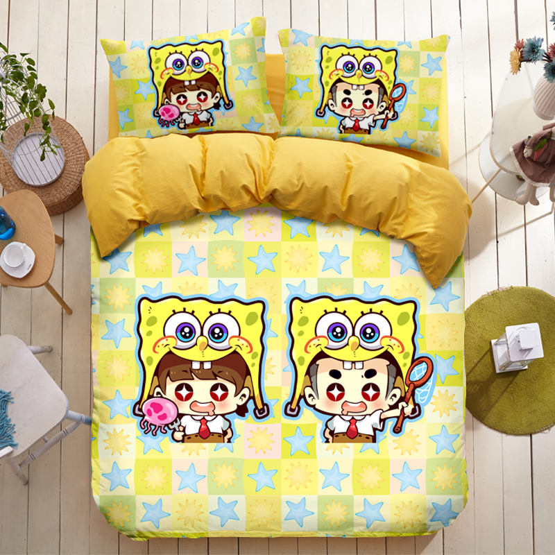 Spongebob Squarepants Bedding And Get Free Shipping On Aliexpress