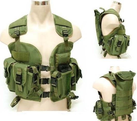 Top Quality Military Tactical Vest BDU Coat High Density Nylon Molle Combat Assault Plate US Navy Seals Water Bag Tactical Vest