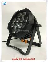 24/lot battery par led 12x12w rgbwa uv waterproof 6 in 1 DMX Par Can DJ Up Lighting with wifi control
