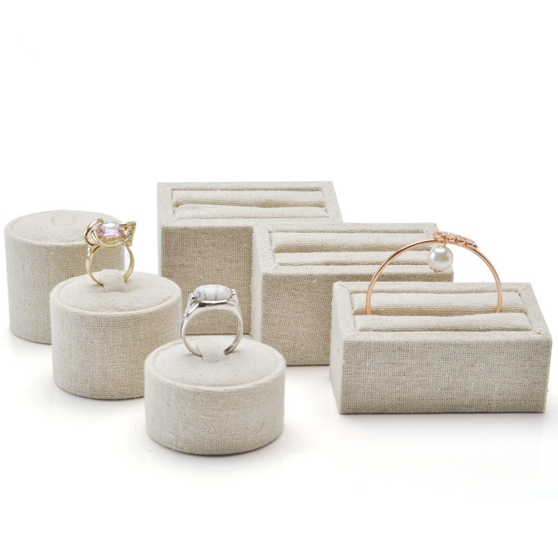 Linen Insert Bangles Display Holder Ring Display Stand Jewellery Display Stand Ring Display Rack Bangle Display Showcase