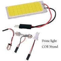 YSY 50pcs T10 BA9S COB Chip 36SMD LED Light Car Light Source Auto Interior Light Panel