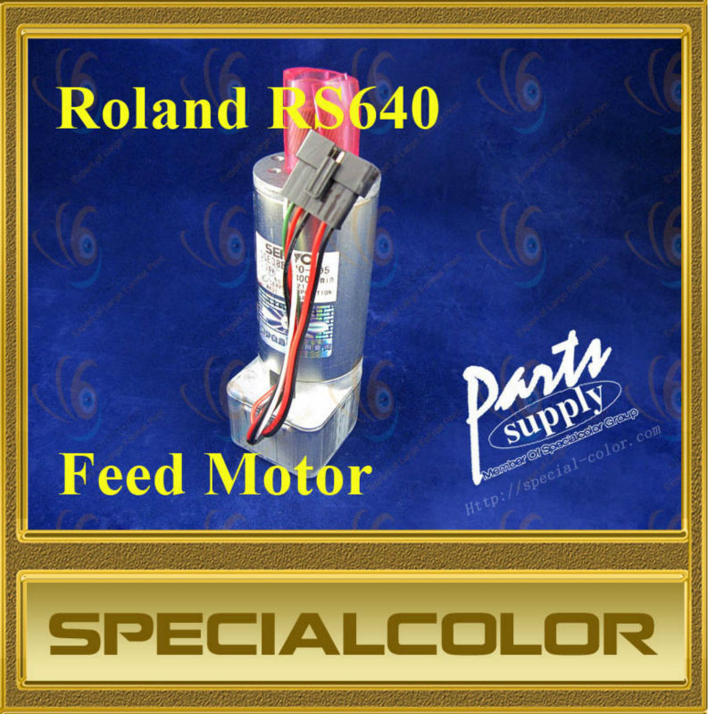 Feed motor used for Roland RS640 printer feed