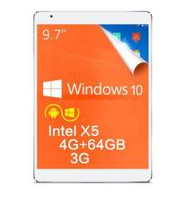 EN la acción! Teclast X98 Plus 3G 9.7 pulgadas Windows 10 + Android 5.1 Tablet PC Z8300 IPS Retina Screen 4 GB RAM 64 GB ROM