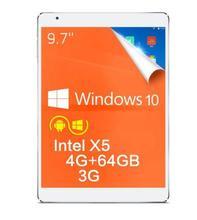EN la acción! Teclast X98 Plus 3G 9.7 pulgadas Windows 10 + Android 5.1 Tablet PC Z8300 IPS Retina Screen 4 GB RAM 64 GB ROM