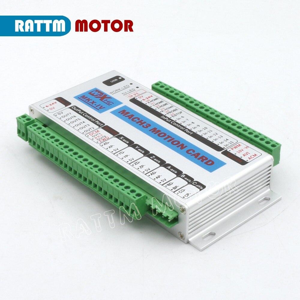 Cnc Rattm Wiring Diagram Schematic Diagrams Cmd5 New Upgrade Xhc Mk4 Mach3 Usb 4 Axis Motion Control Card