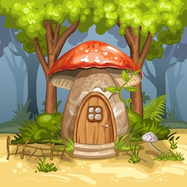 87 Jenis Gambar Rumah Jamur Terlihat Keren