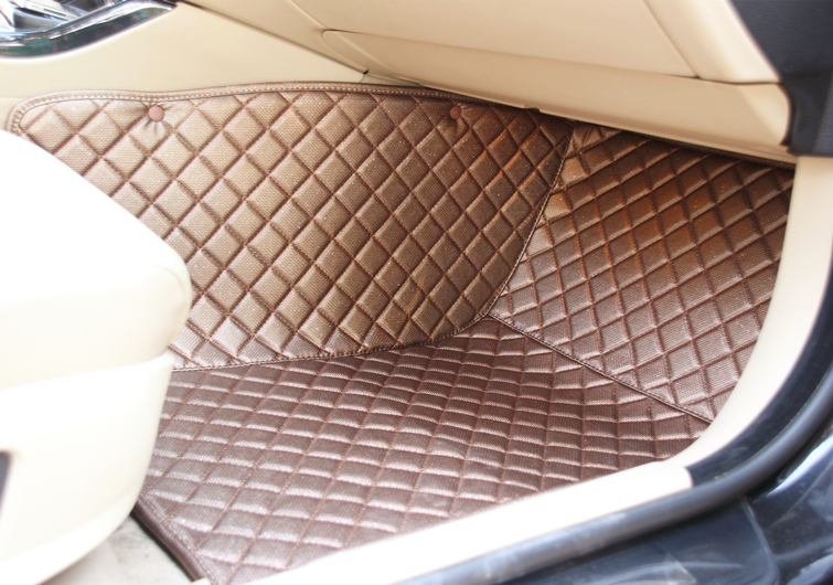 Good quality! Custom special floor mats for Audi A4 Allroad 2016 waterproof Easy to clean carpets for A4 2015-2009,Free shipping
