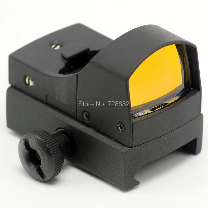 Hunting Tactical 3 MOA Micro Red Dot Sight Mini Holographic Optics Reflex Sight Scope w/Picatinny Weaver 20mm Rail mount cotton bull and letters print round neck short sleeve t shirt