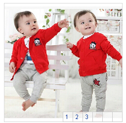 Small-childrens-clothing-0-2-years-old-baby-autumn-baby-shirt-male-female-child-long-sleeve-shirt-100-cotton-clothes-2