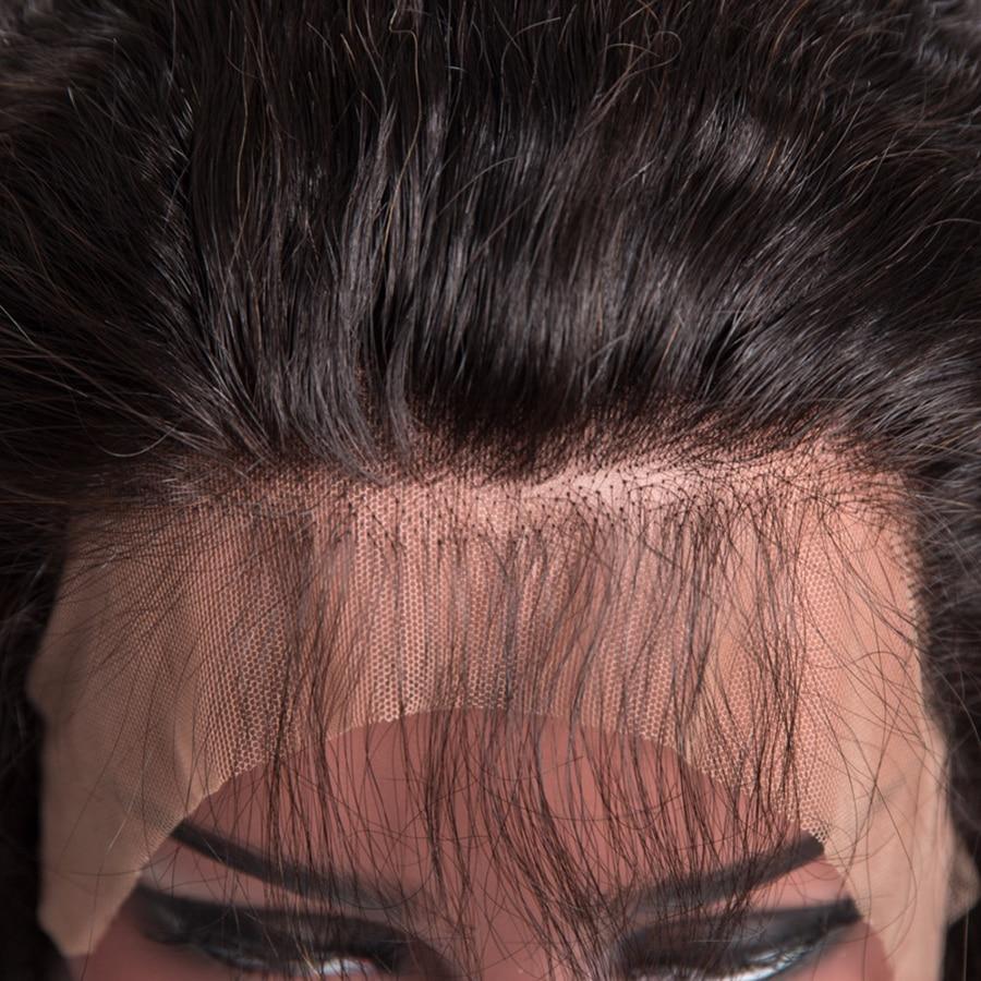 [ALIPOP] Προσελλόμενη 360 Lace Μετωπιαία - Ανθρώπινα μαλλιά (για μαύρο) - Φωτογραφία 3