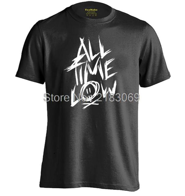 All Time Low Mens & Womens Short Sleeve Cotton Comfortable T Shirt