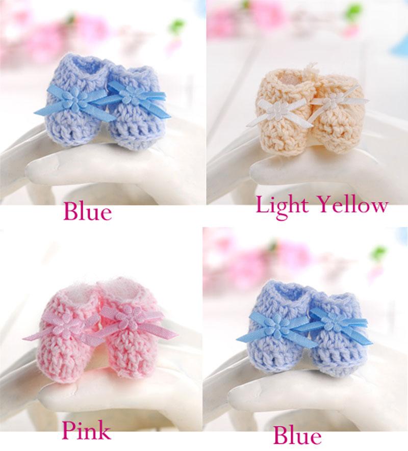 Delicate Dress Baby Favor Mini Crochet Shower Favors Patterns