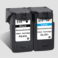 Ink Cartridge Replacement For Canon PG510XL 510 XL CL511XL 511 XL Pixma MP250 MP230 MP240 MP252 MP260 MP270 MP272 MP280 Inkjet