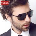 NOSSA Marco de Metal gafas de Sol Polarizadas de Alta Calidad Gafas de Sol de Moda Marca de Lujo de Los Hombres de Gafas Masculinas