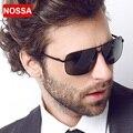 NOSSA Metal Frame Polarized Sunglasses High Quality Men's Fashion Sun Glasses Luxury Brand Male Eyewear