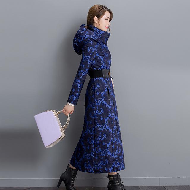 Algodão-acolchoado roupas femininas longo sleevejacket com capuz thicke das mulheres jaqueta casaco de inverno mulheres casaco de inverno longo solto clothing