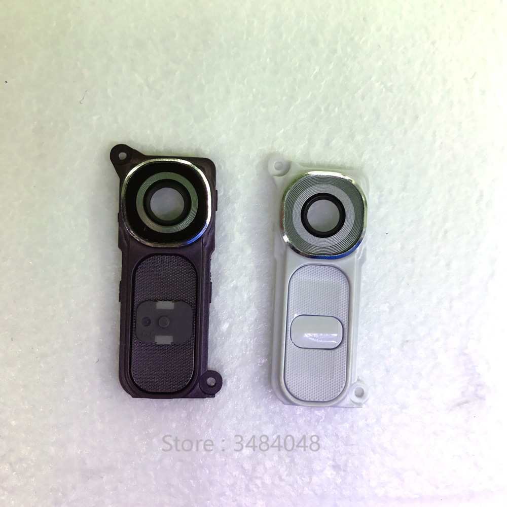 For LG G4 H810 H811 H815 VS986 LS991 F500L Rear Camera Lens Cover Ring With Power Switch Key Button image