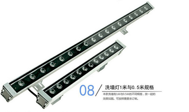 ac110v 240v led wall washer 18w led wall wash light lamp outdoor