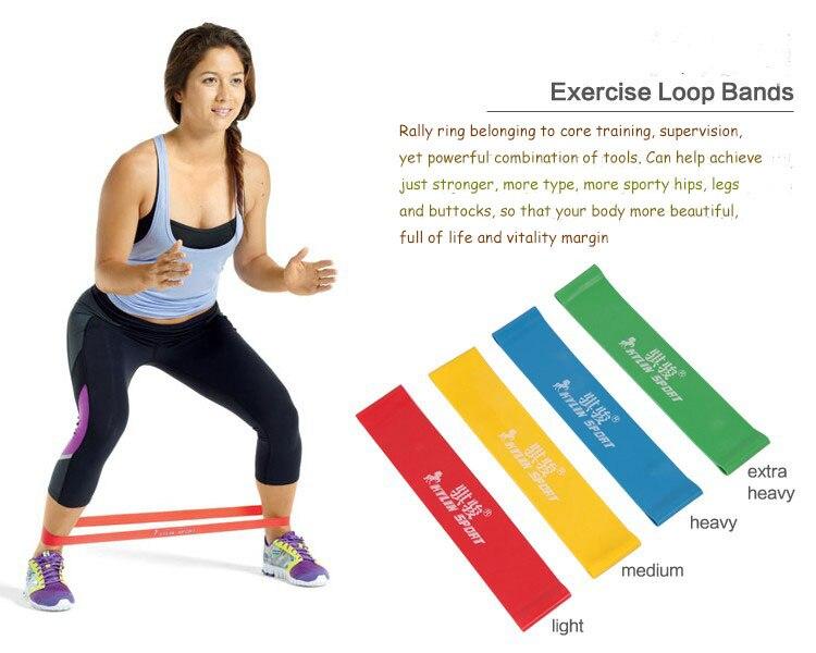Neue 4psc / lot 4 Stufen verfügbar Pull Up Assist Bands Übung Body - Fitness und Bodybuilding - Foto 4