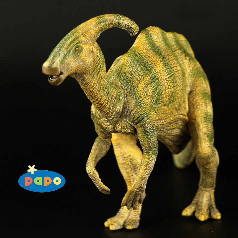2005 Papo Hadrosaurs The Most Classic Ancient Creatures Simulation Animal Toy Collection Dinosaur Park