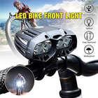 ★  4x XML-T6 LED Велосипед Велоспорт Передний свет фар 4 Режим мощный светодиодный фонарик головы Lante ★