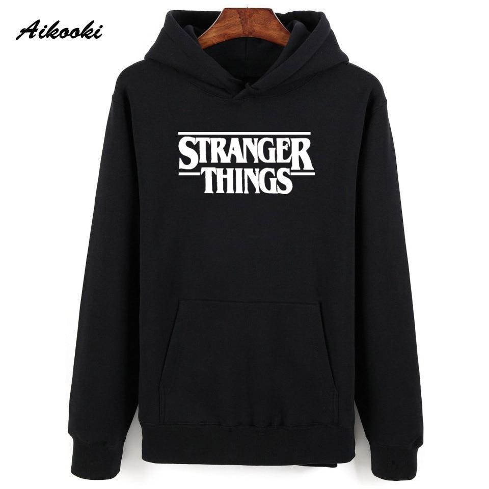 Hoodie Stranger Things Hoodies Sweatshirt women/men Casual Stranger Things Sweatshirts Women Hoodie Men's 2